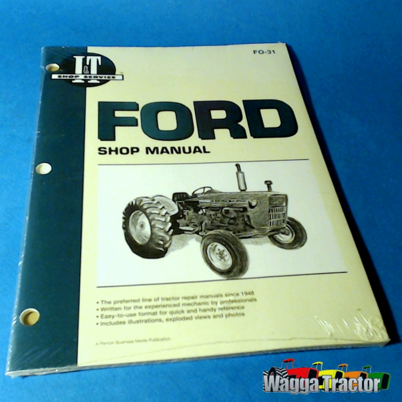 Ford 3000 Engine : Wagga tractor parts fo workshop manual for ford