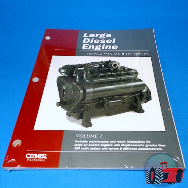 Wagga Tractor parts - LDS1 Workshop Manual for Large Diesel