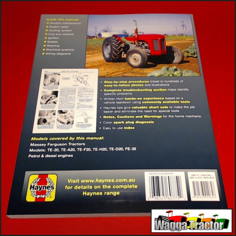 Wagga Tractor parts - WSM5975 Workshop Manual Mey ... on ferguson ignition switch wiring, ferguson to 20 wiring-diagram, ferguson tractor wiring diagram, ferguson to20 no spark,